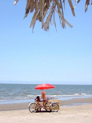 Am Strand von Tecolutla, Veracruz