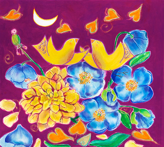 2. Blue Poppy Moon