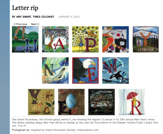 Alphabet images from Island Ilustrators