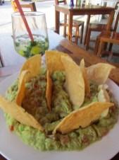 Guacamole ja mojito - aika hyvä pari!