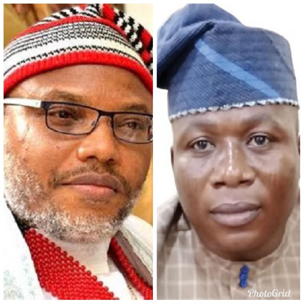 Kanu da Igboho: Ba cinya ba ƙafar baya