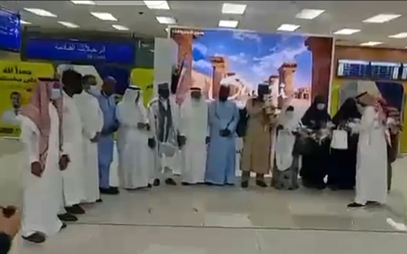 Bidiyo: Tawagar farko ta maniyyata Umura daga Nijeriya ta isa Saudiyya