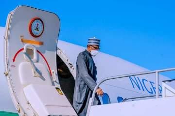 BIDIYO: Sa'ilin da Shugaba Buhari ya isa Amurka don Taron Majalisar Ɗinkin Duniya karo na 76