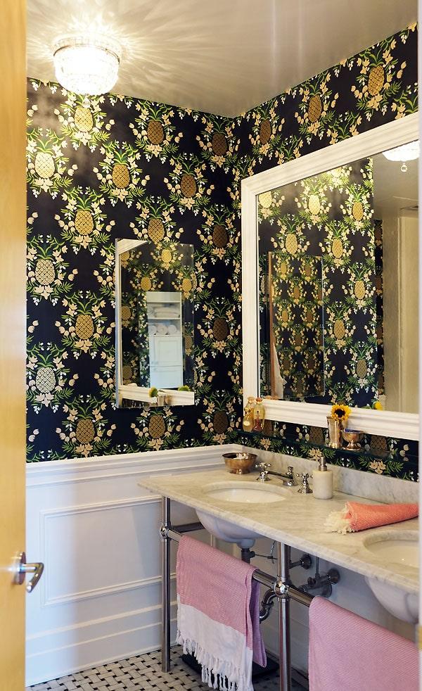 Manhattan Nest   Ana Gasteyer's Bathroom Makeover