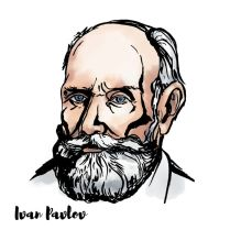 Ivan Pavlov sketch - the father of classical conditioning
