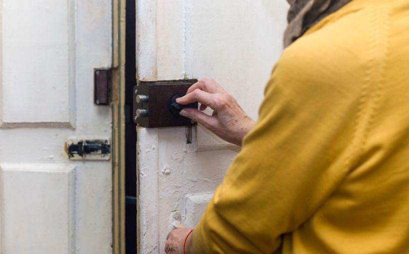 ocd locking and relocking door