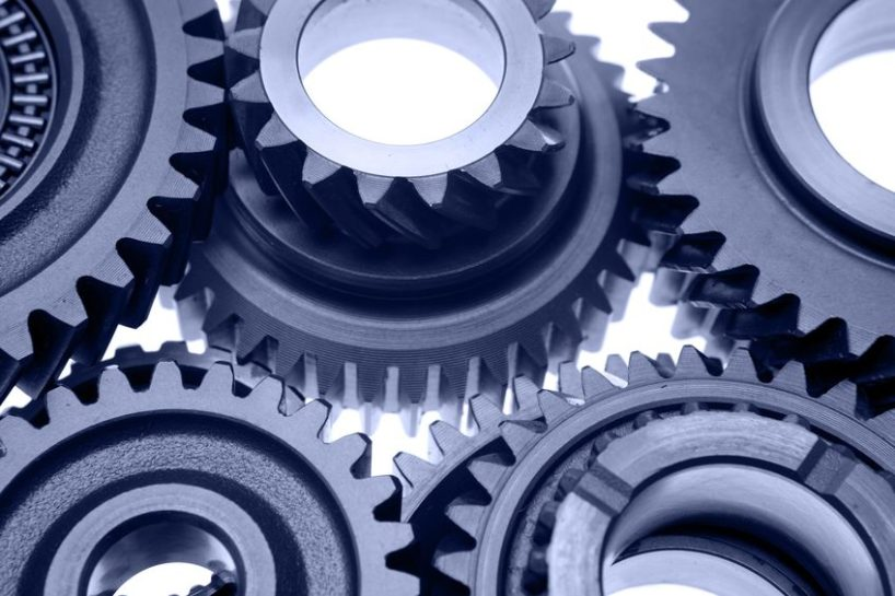 Negative reinforcement - cogs and gears