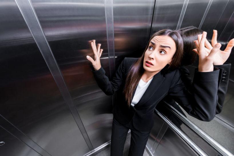 cleithrophobia elevator claustrophobia