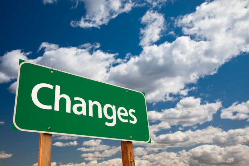 changes sign - life transitions and stress