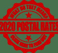 2018 postal rates