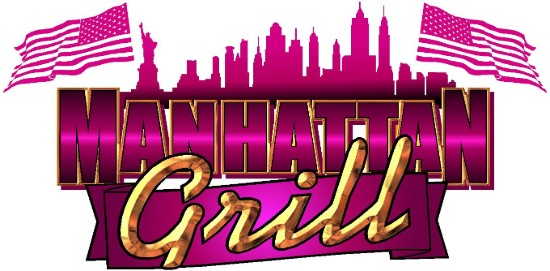Manhattan Grill Catering Logo Mobile Caterers