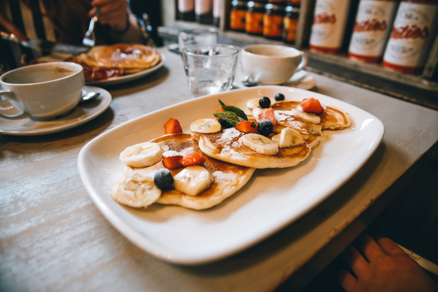 Things to do in Glasgow: Pancakes at Bill's Glasgow