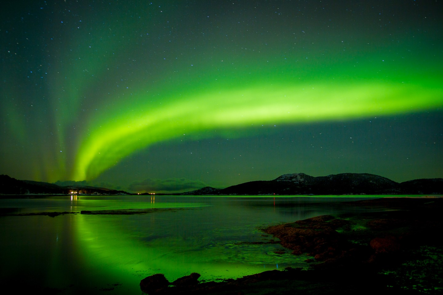 The best time to see northern lights in Norway