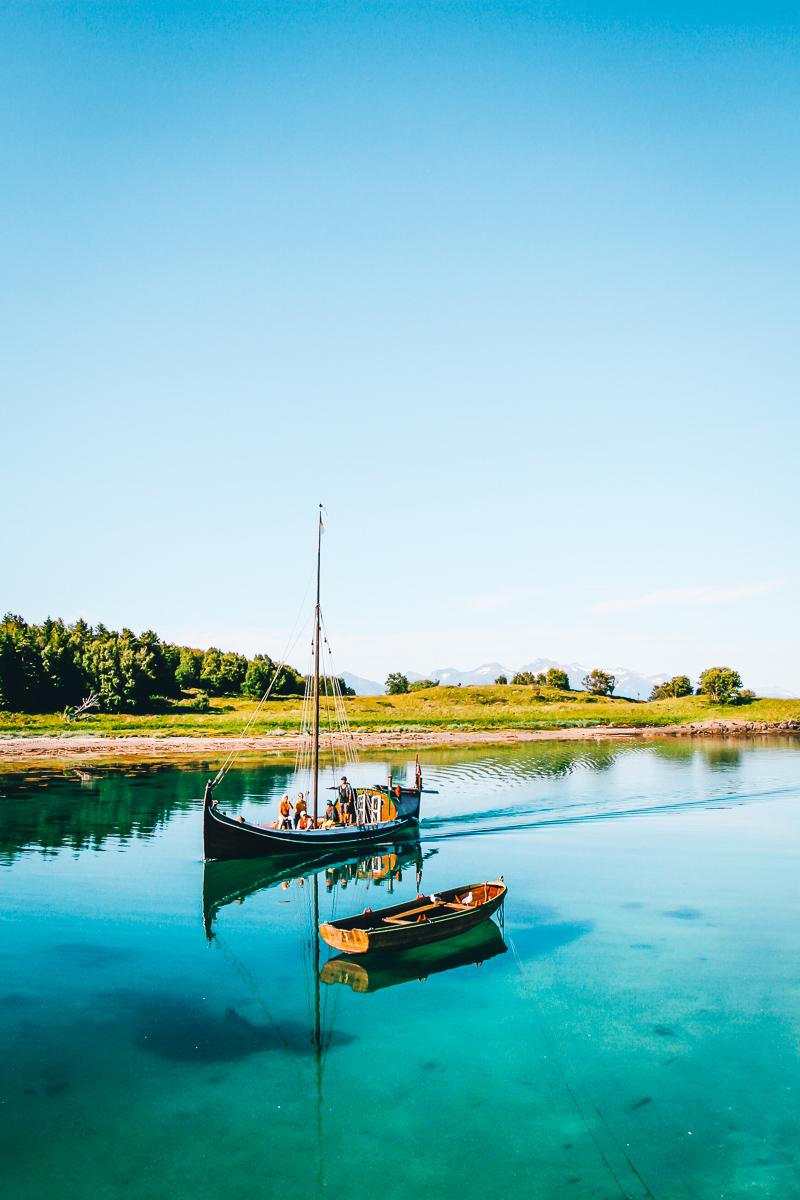 Nordlandsbåt på Kjerringøy