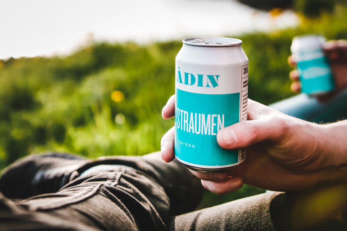 Bådin Bryggeri Saltstraumen beer