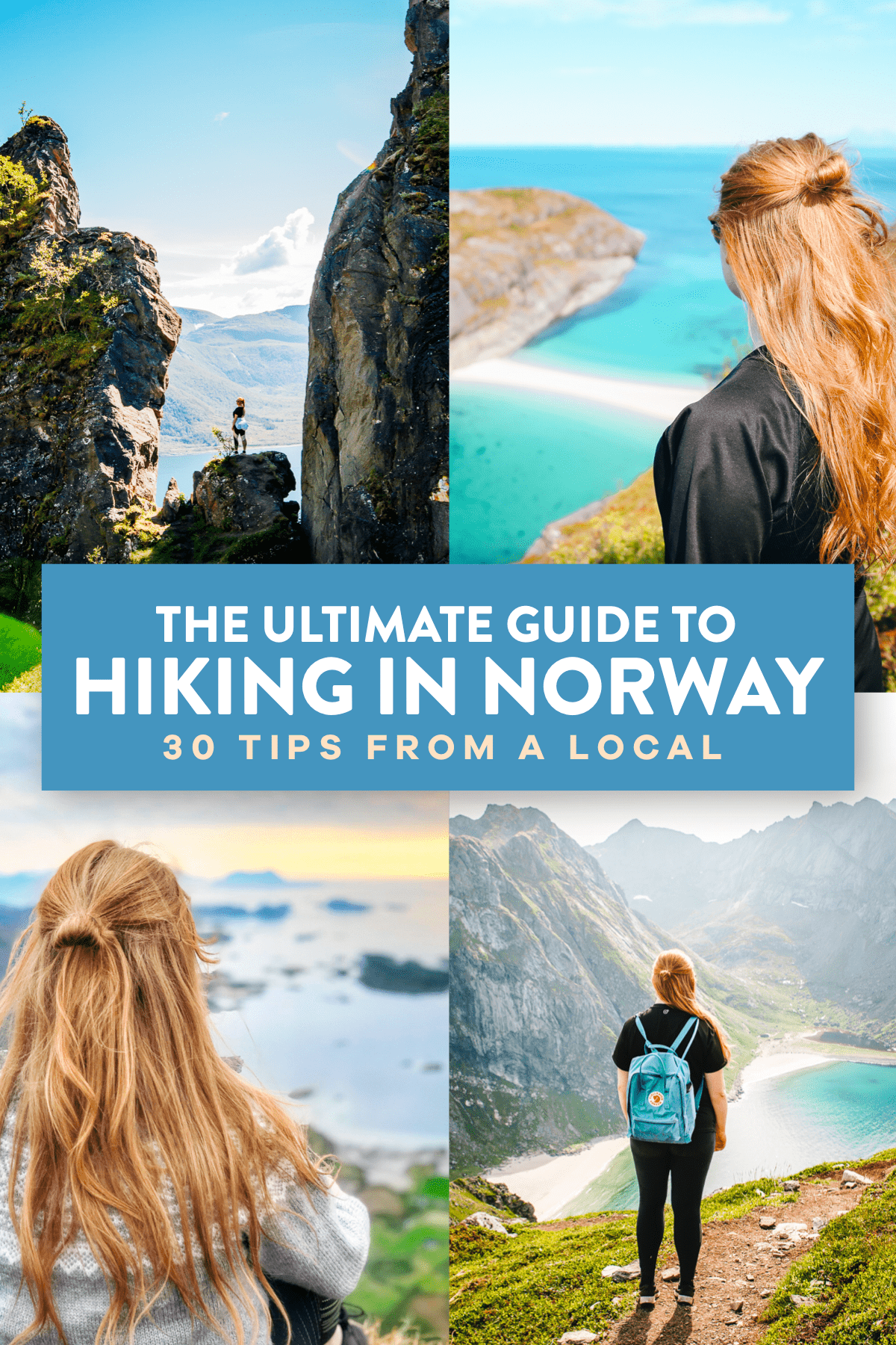 Hiking In Norway Pin 1