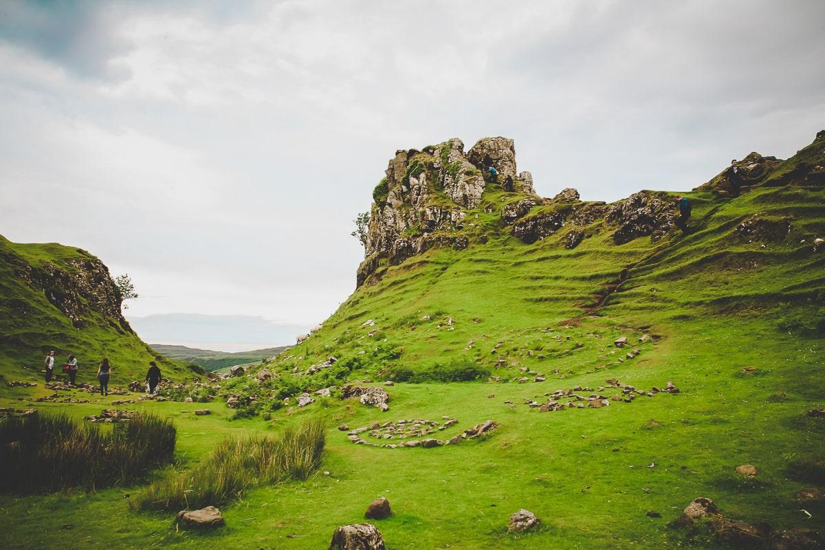 Scotland Road Trip Fairy Glen & Castle Ewan