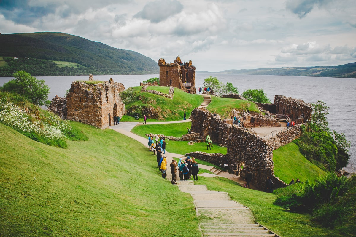 Scotland Road Trip - Loch Ness and Urquhart Castle