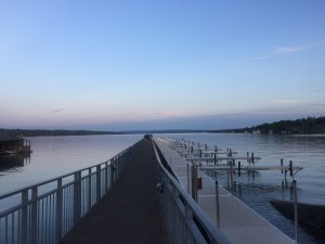 If you think that New York State consists of just Manhattan and Westchester, you're missing out on a lot of beautiful places! Check out Skaneateles for your next weekend getaway.