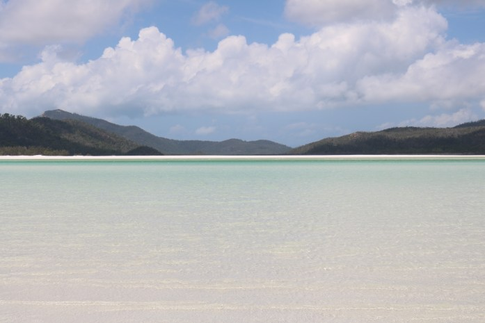 Whitehaven Beach in the Whitsunday Islands is home to the finest sand grains known to man.