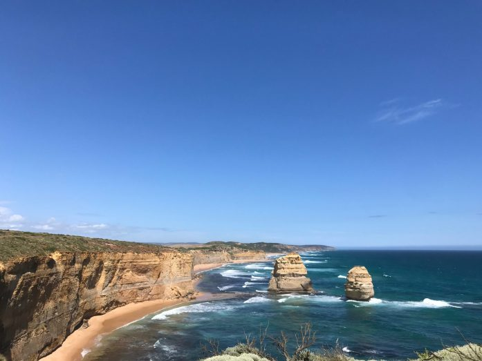 You will be stunned into silence while driving Victoria's Great Ocean Road in Australia.