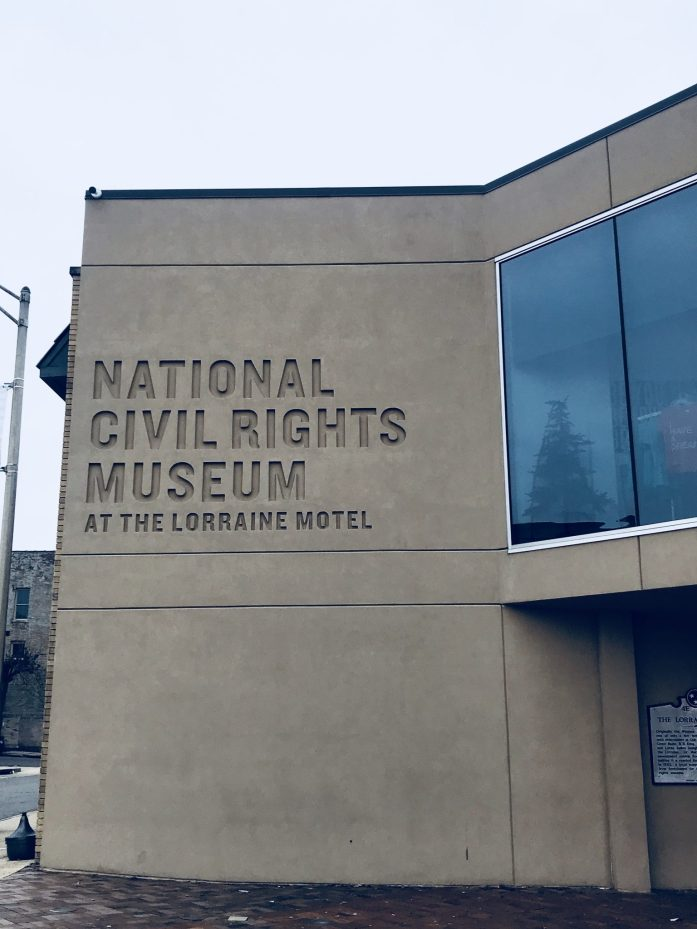 Memphis' National Civil Rights Museum is located at the Lorraine Motel where Dr. Martin Luther King was shot.