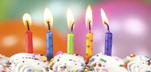 2016 Birthday Candles
