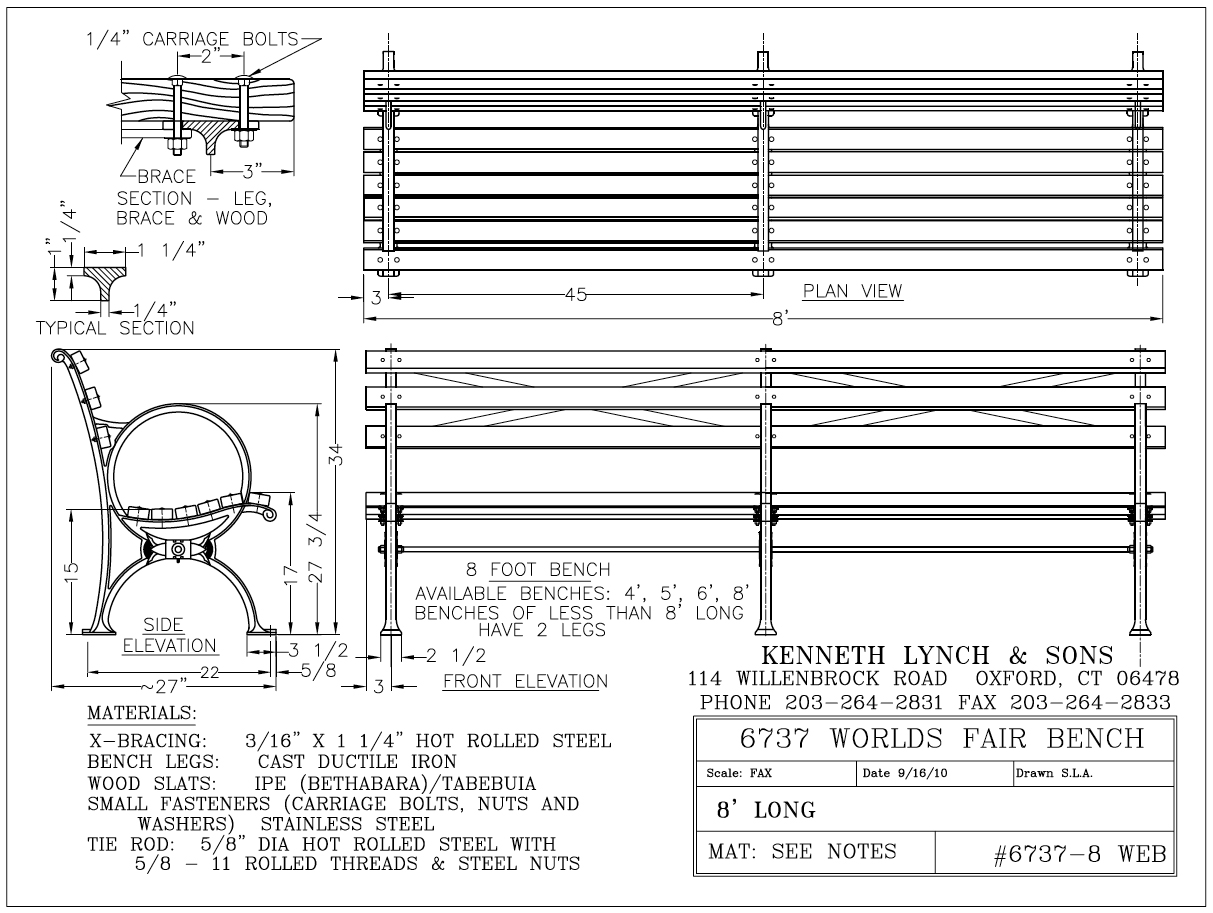 20 Fantastic Ideas Park Bench Drawing Front View