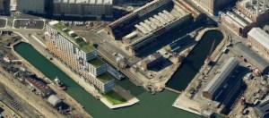 BNY Dry Docks Aerial