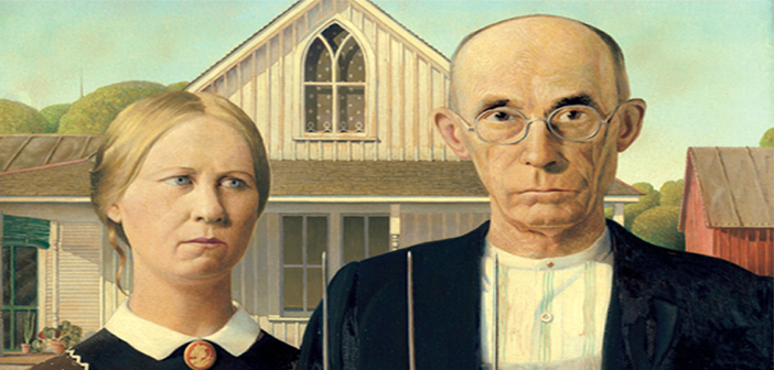 APRIL 26: GRANT WOOD and AMERICAN GOTHIC