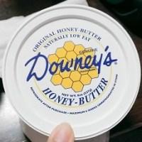 はちみつダイスキ!コストコで買ったダウニーズハニーバターが美味しい~( *´艸`)