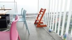 小さい子用の椅子もあった