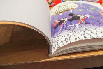 大人ディズニー素敵な塗り絵レッスンブックの塗り絵パート