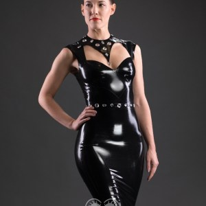 Pin Stripe Dress (1)_Aries_Maniac Latex