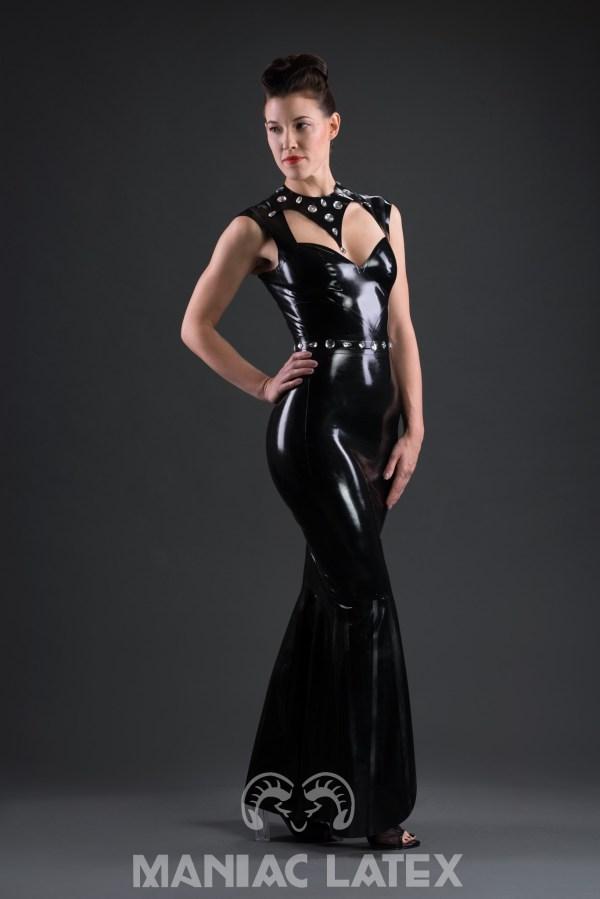Pin Stripe Dress (2)_Aries_Maniac Latex