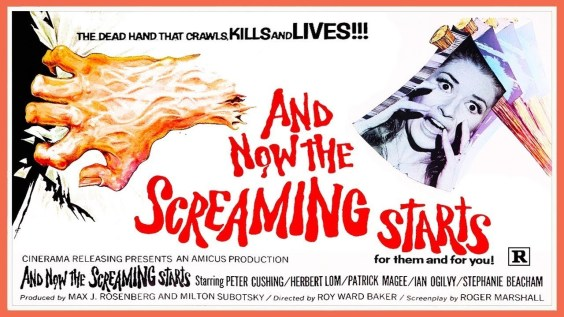 And Now The Screaming Starts Poster
