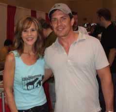 Linda Blair from The Exorcist, 2006
