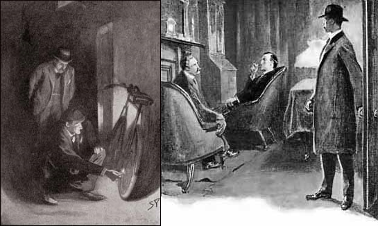 Sidney Paget Illustrations for The Adventure of the Priory School and The Adventure of the Abbey Grange in Strand Magazine