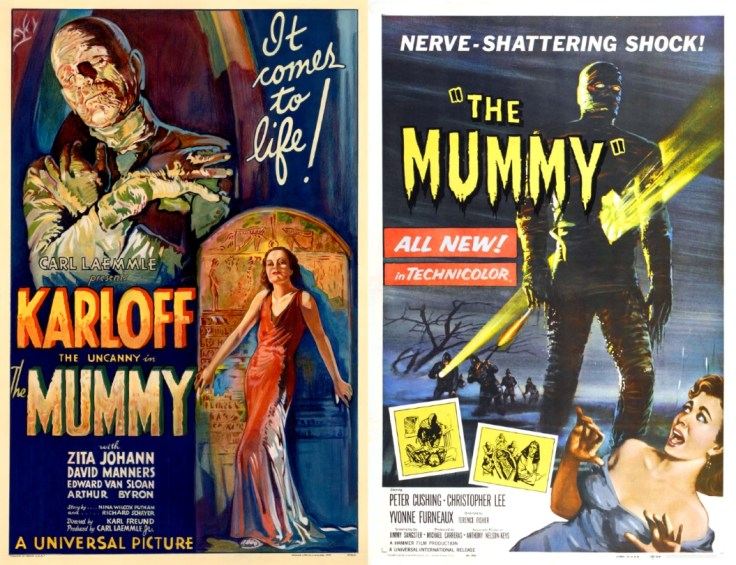 Universal & Hammer The Mummy