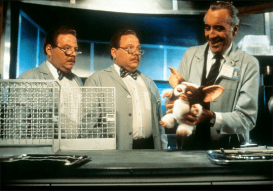 Christopher Lee in Gremlins 2