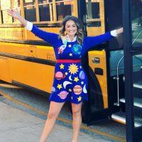 DIY Ms. Frizzle Costume