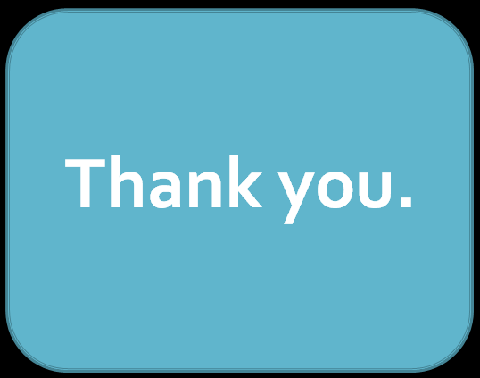a thank you slide takes the focus off the genuine emotional gratitude of the speaker it reduces authentic warmth to an emotionally hollow visual clich