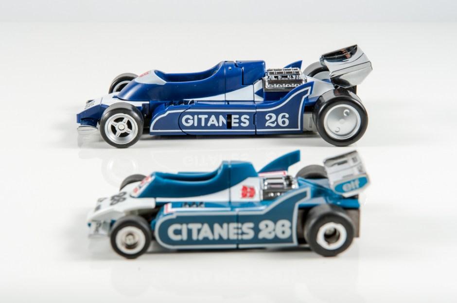 masterpiece mirage dx9 invisible transformers comparison mp g1 ligier js11 f1 race car