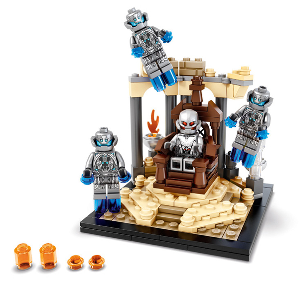 sdcc 2015 marvel lego ultron throne