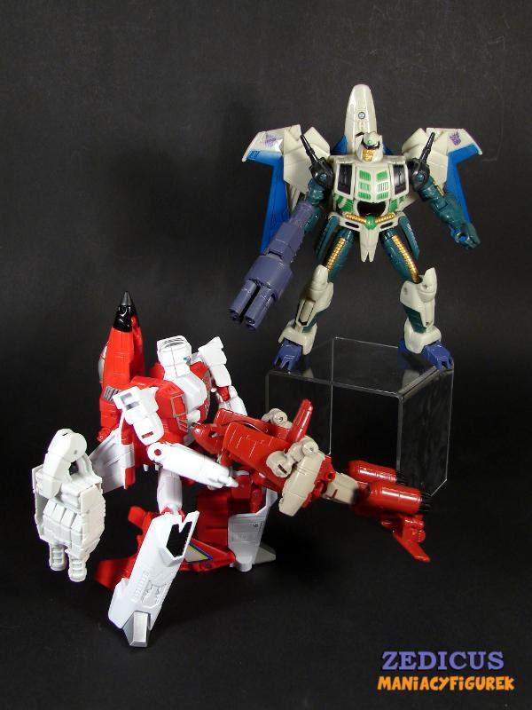 Unite Warriors Fireflight vs Generations Thunderwing