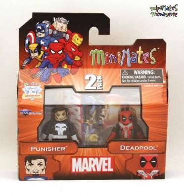 Diamond Select Deadpool Punisher Minimates