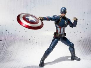 SH Figuarts Marvel Civil War Captain America