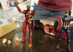 Figurki Marvel Legends Civil War