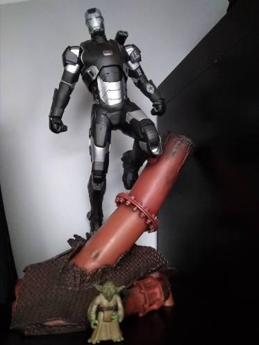 Kotobukiya ArtFX Warmachine vs Yoda Kenner
