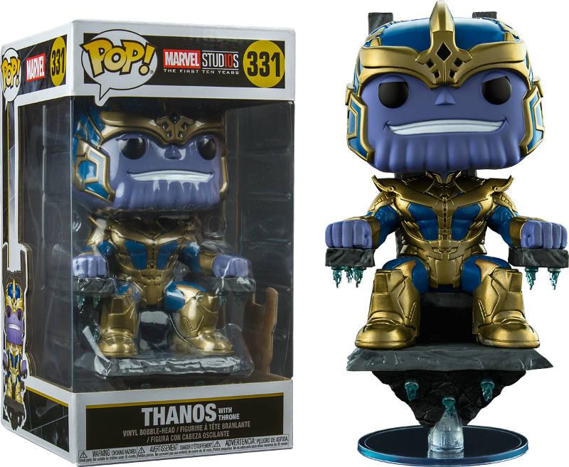 figurki thanos pop vinyl guardians of the galaxy throne